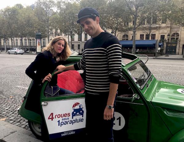 elektrische 2CV rondrit Parijs
