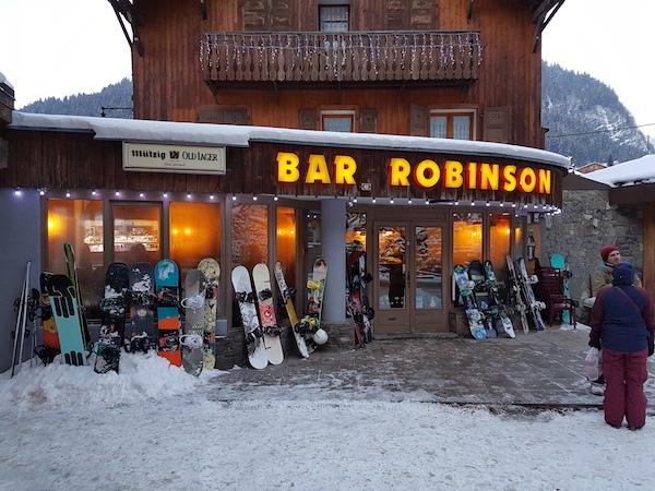 Apres ski Bar Robinson Morzine