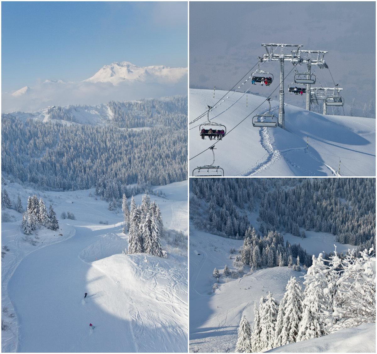 Geheime zone Chamossière in skigebied Morzine Portes du Soleil
