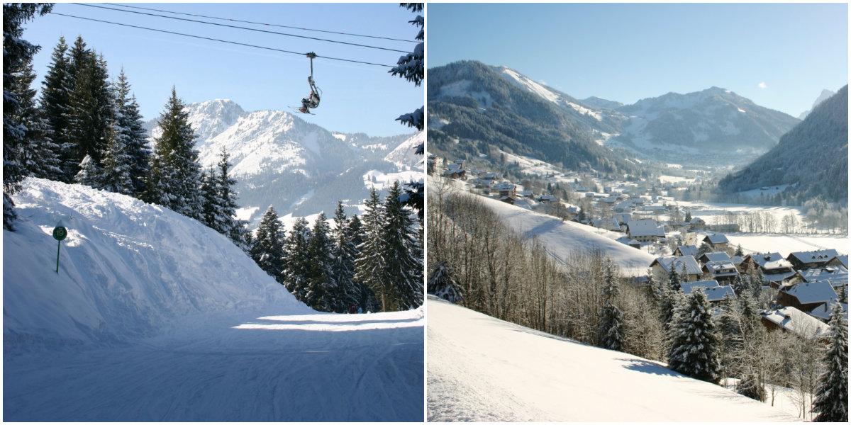 La Chapelle d'Abondance skiën in Portes du Soleil