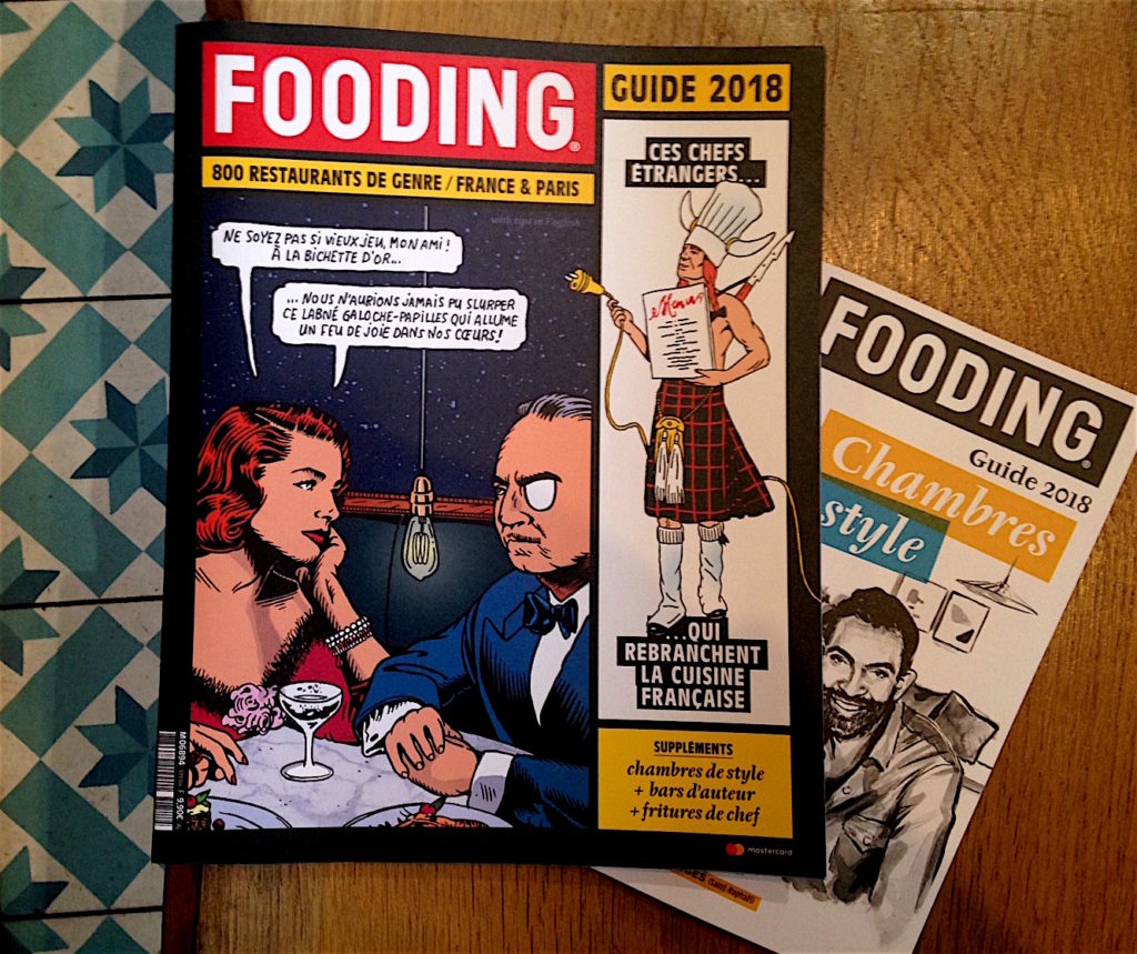 Franse restaurantgids Fooding