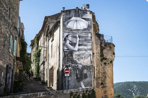 Village perché in de Provence