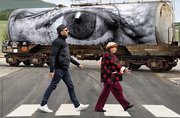 Documentaire Visages Villages: Agnès Varda en JR, fotokunstenaar