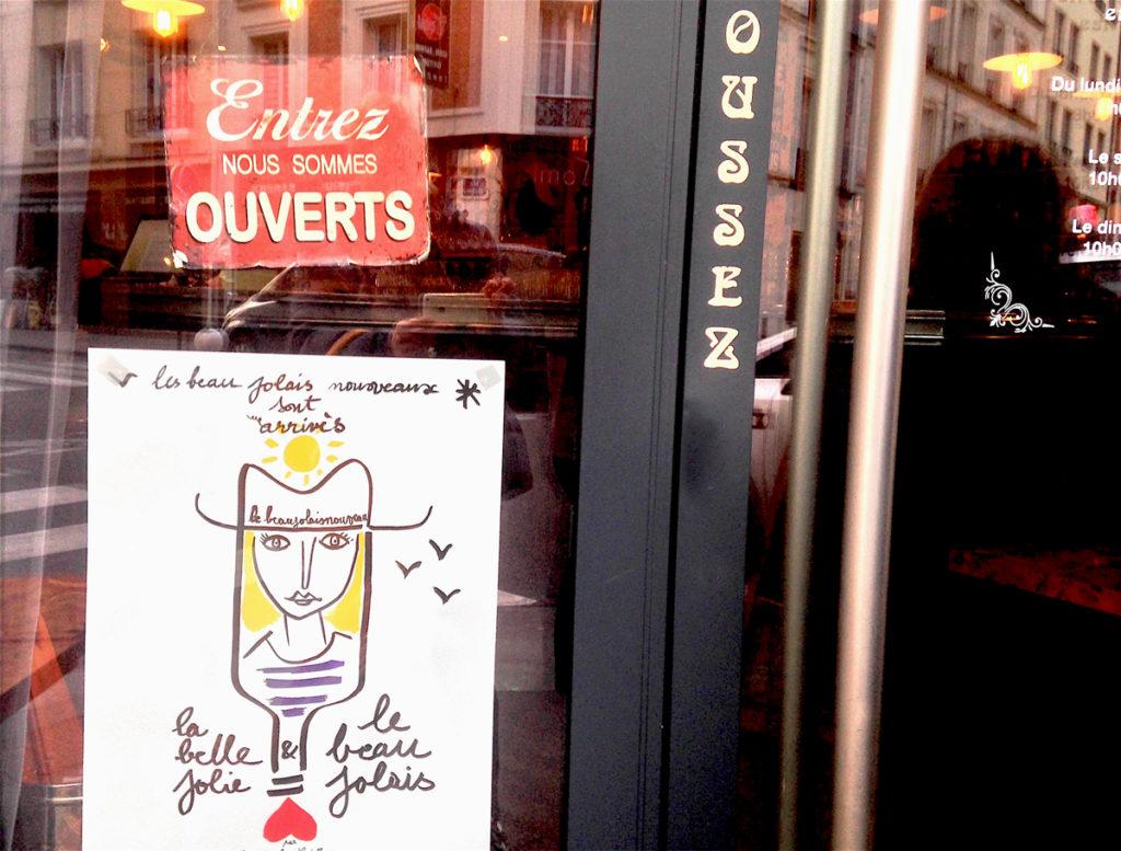 Beaujolais nouveau 2017 affiche Castelbajac