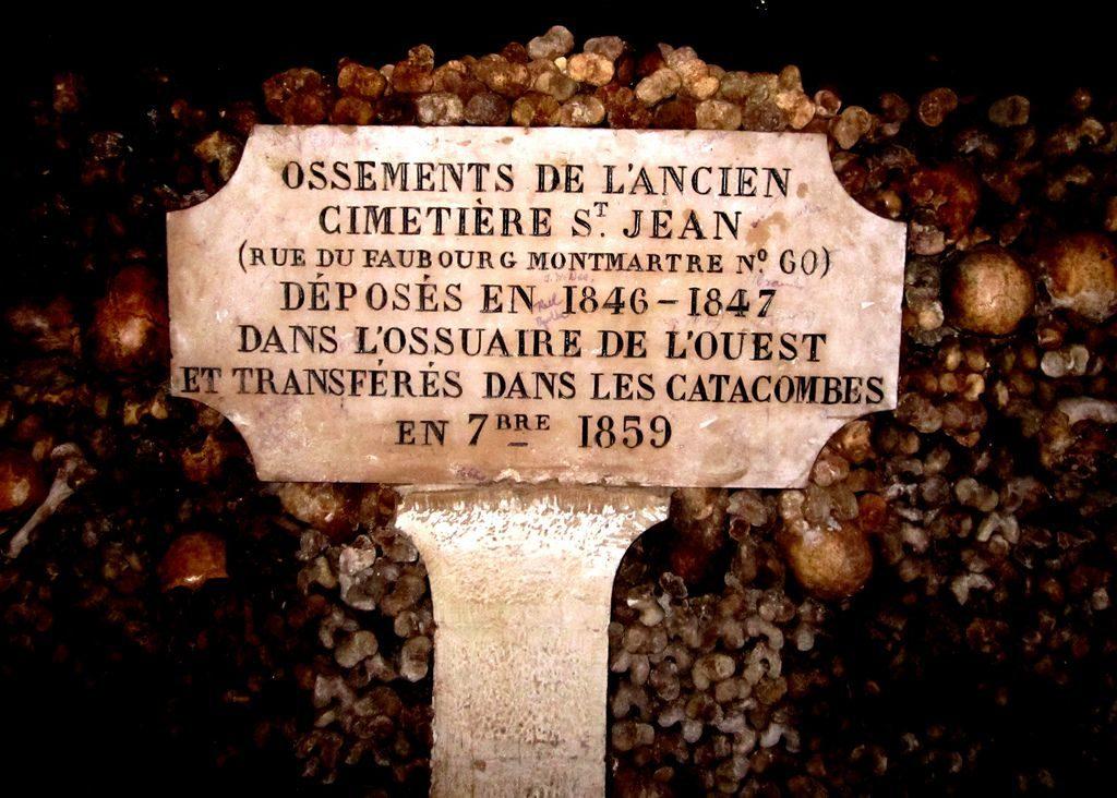 De Catacomben Van Parijs Frankrijk Nl