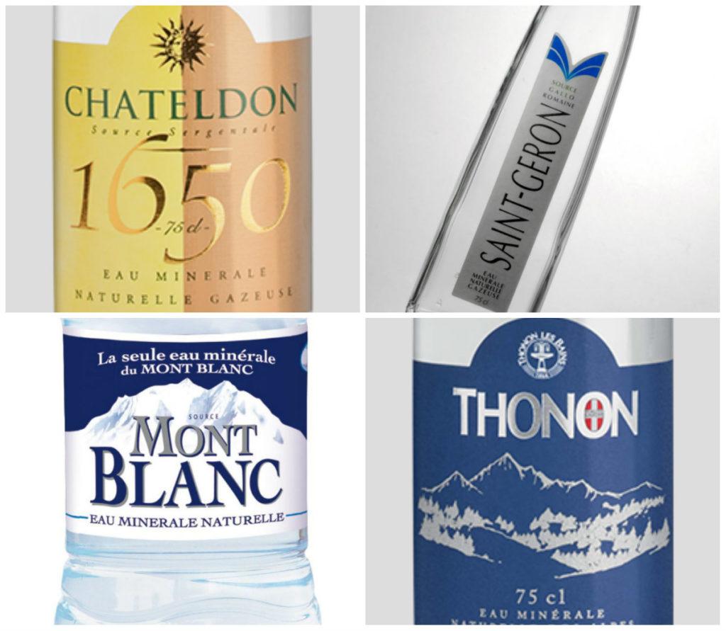 Frans mineraalwater uit de Auvergne en Languedoc