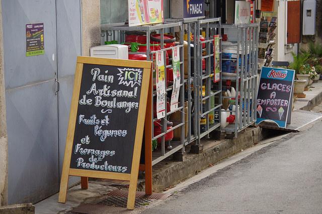 Lot-et-Garonne vakantiestreek winkeltje