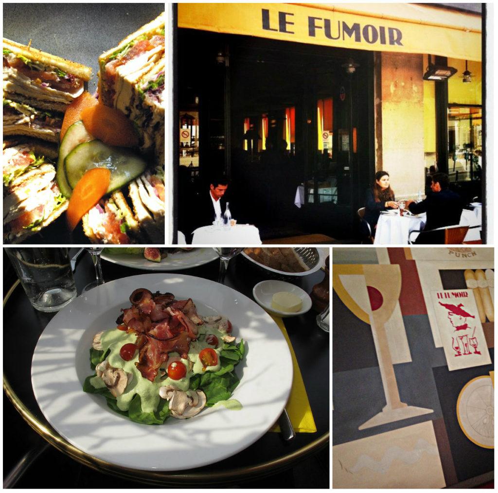 restaurant lunchadres Le Fumoir