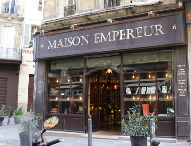 Winkel en B&B Maison Empereur in Marseille