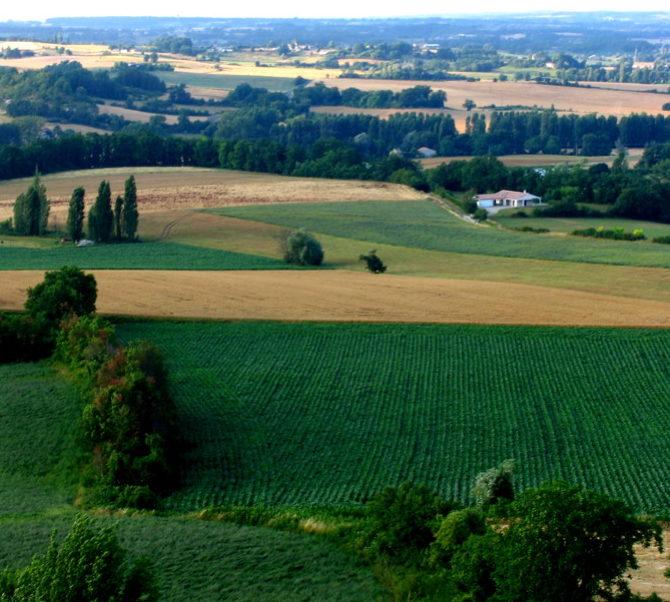 Monflanquin Lot-et-Garonne vakantiestreek