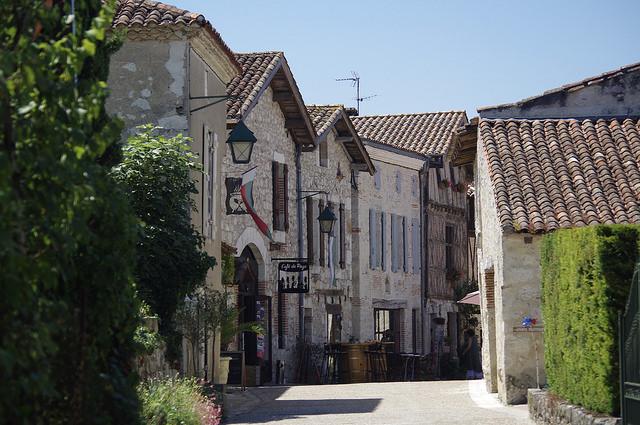 Lot-et-Garonne vakantiestreek Pujols dorp