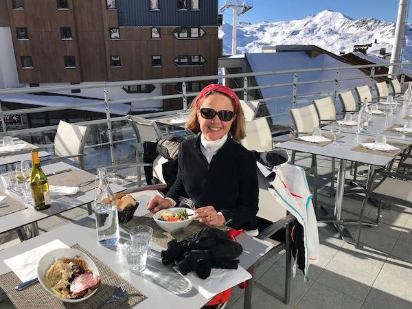 Carole bij Club Med Val Thorens