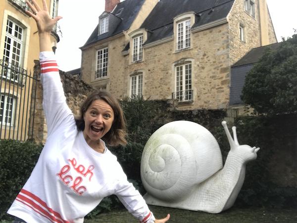 Carole en slak in Le Mans