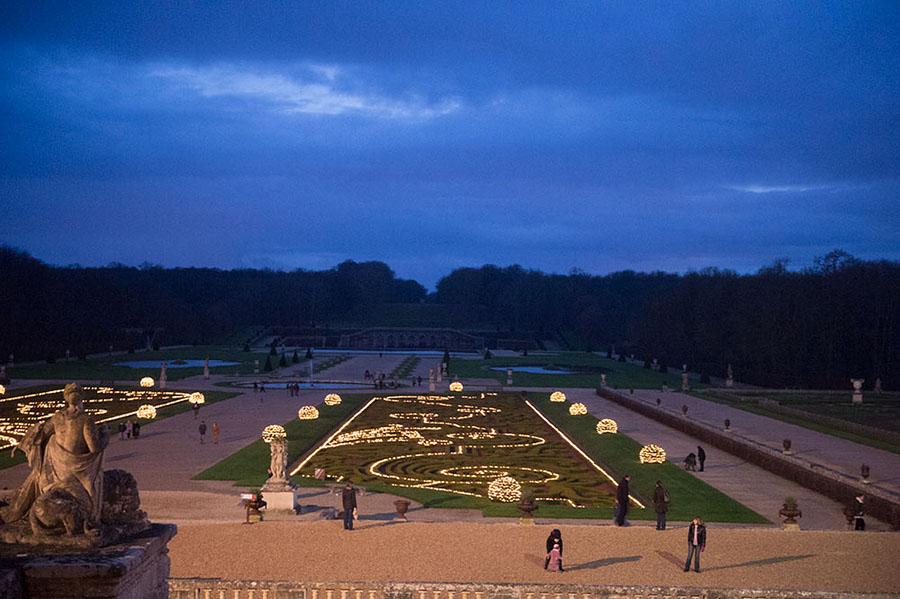 chateau de Vaux-le-Vicomte Parijs