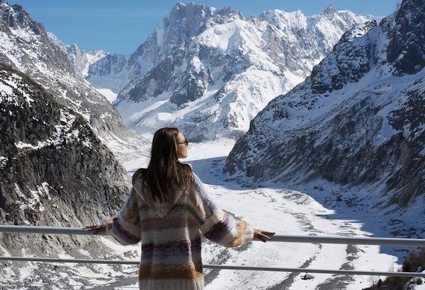 Mer de Glace - gletsjer van de Mont Blanc