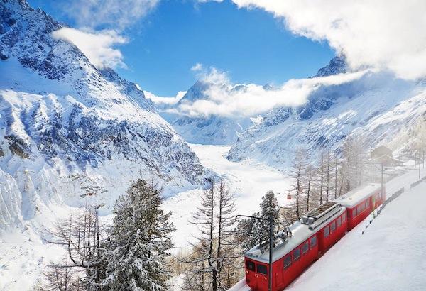 Treinritje Chamonix-Montblanc