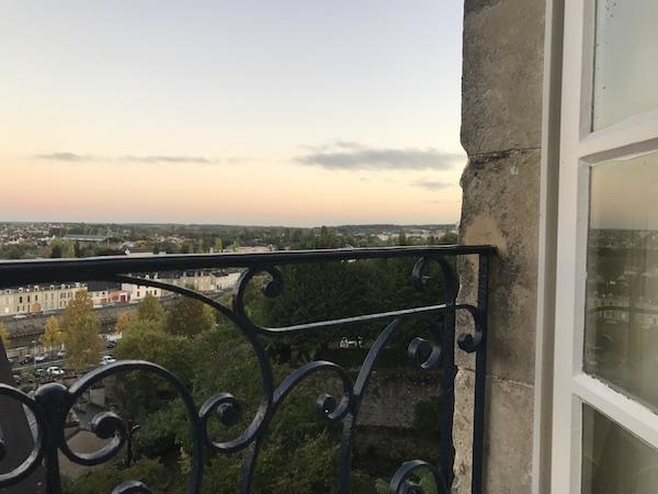 Uitzicht op Le Mans en de Sarthe