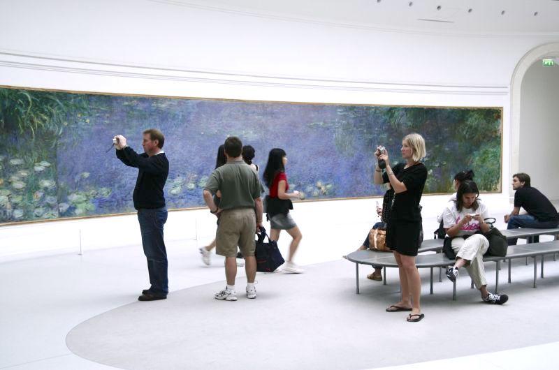 mooi museum in Parijs: de Orangerie