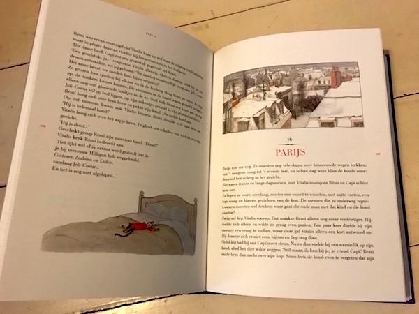 boek Remi Alleen op de wereld
