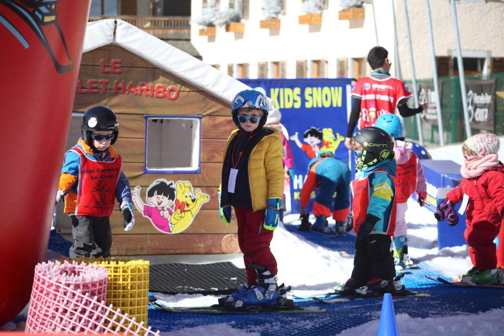 skilessen Piou-Piou in Frankrijk