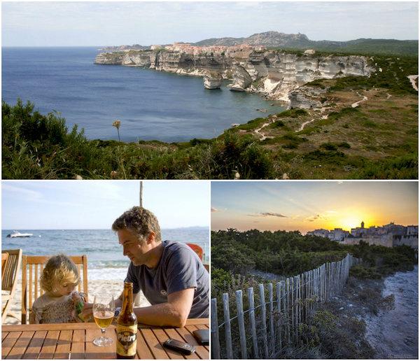 Corsica-collage: de vakantie van Nicky en haar gezin op Corsica