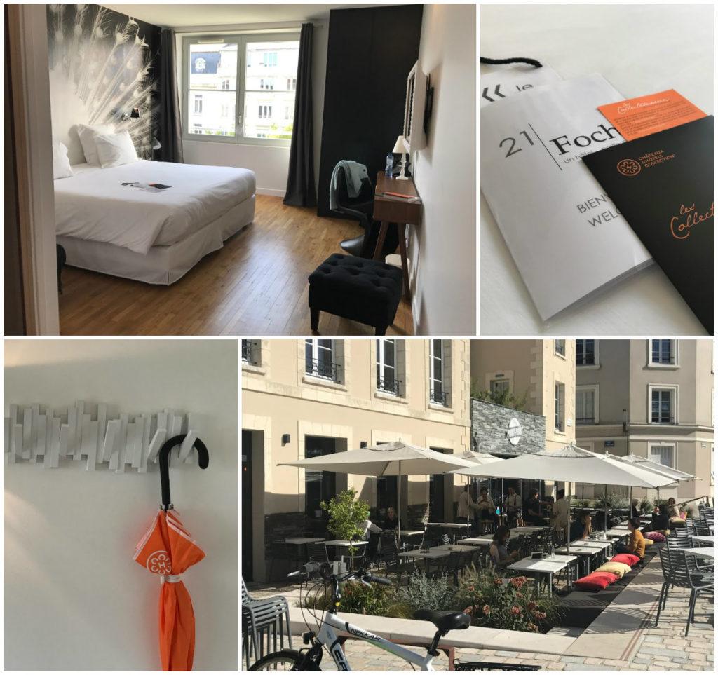 stedentrip Angers winkelstraten shoppen leuk hotel 21 Foch