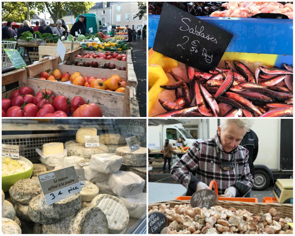 stedentrip Angers leuke markt streekproducten