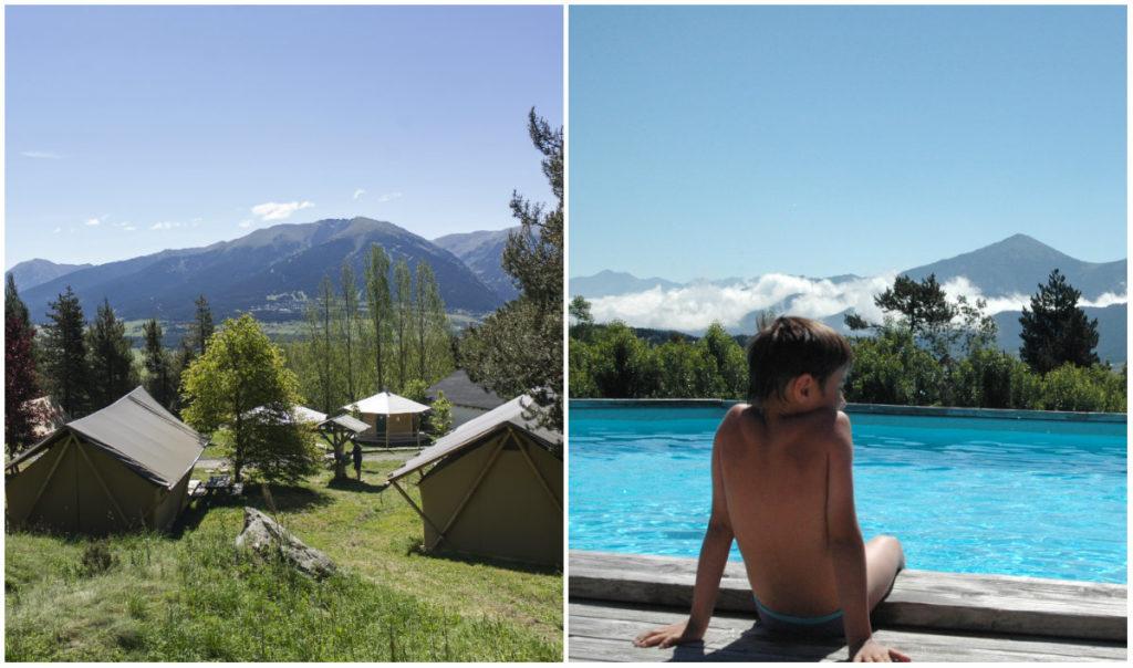 Camping Huttopia Font Romeu Pyreneeen