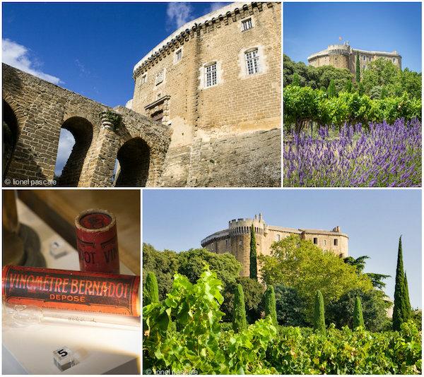 Château de Suze la Rousse in de Drome