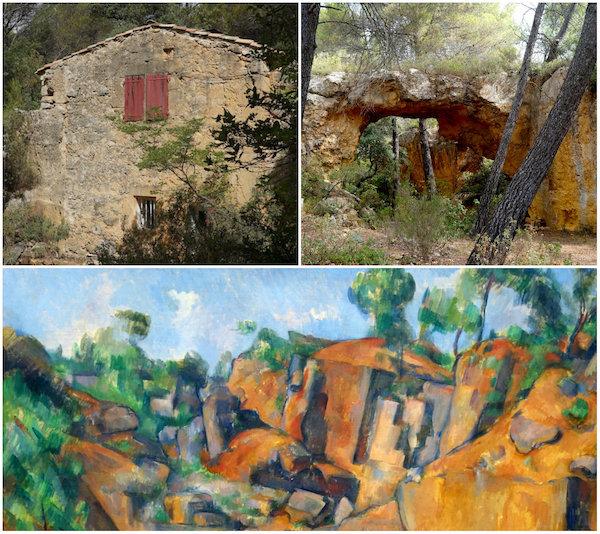 Carrières de Bibémus - krijtgroeven in de Provence