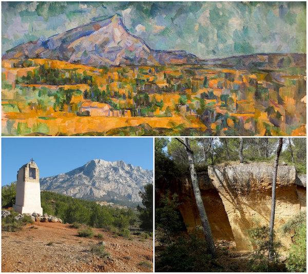 Berg Sainte-Victoire bij Paul Cézanne