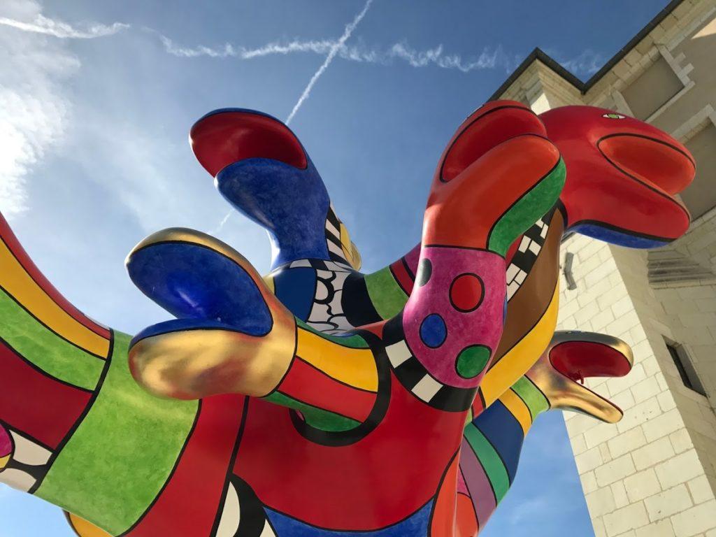 stedentrip Angers museum Beaux-Arts Niki de Saint-Phalle