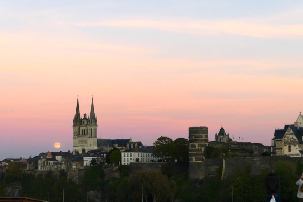 stedentrip Angers uitzicht chateau kathedraal