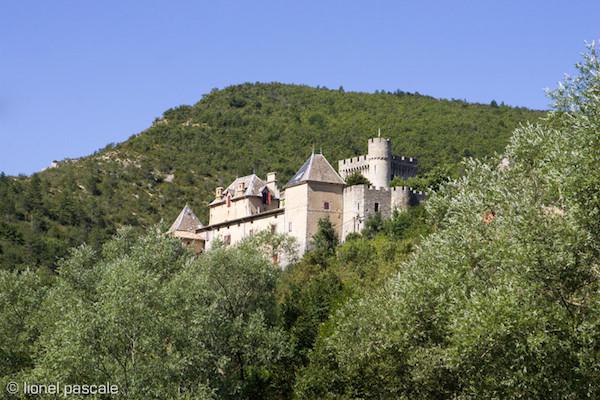 Kasteel in de Drome: Château d'Aulan