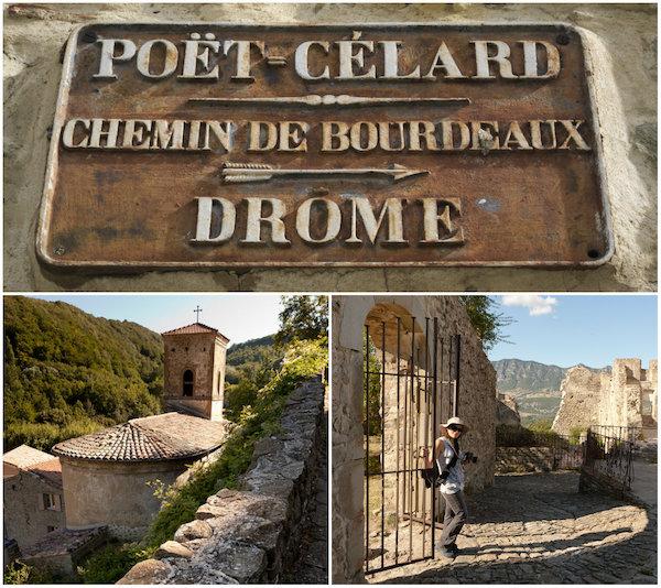 Kasteel in de Drome: Château de Poët-Celard