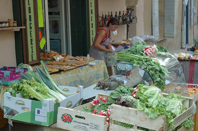 Het mooiste van de Luberon Provence markt Lourmarib