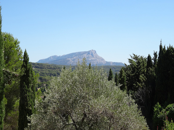 Berg La Sainte Victoire in de Provence