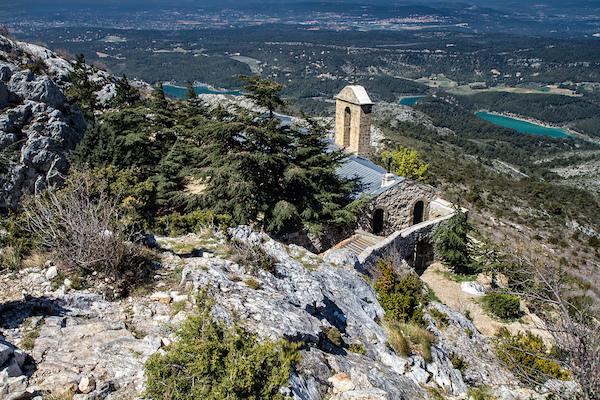 Wandelroute op de berg Sainte Victoire
