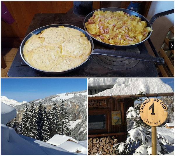 Restaurant l'Alpage du Crot In Les Portes du Soleil