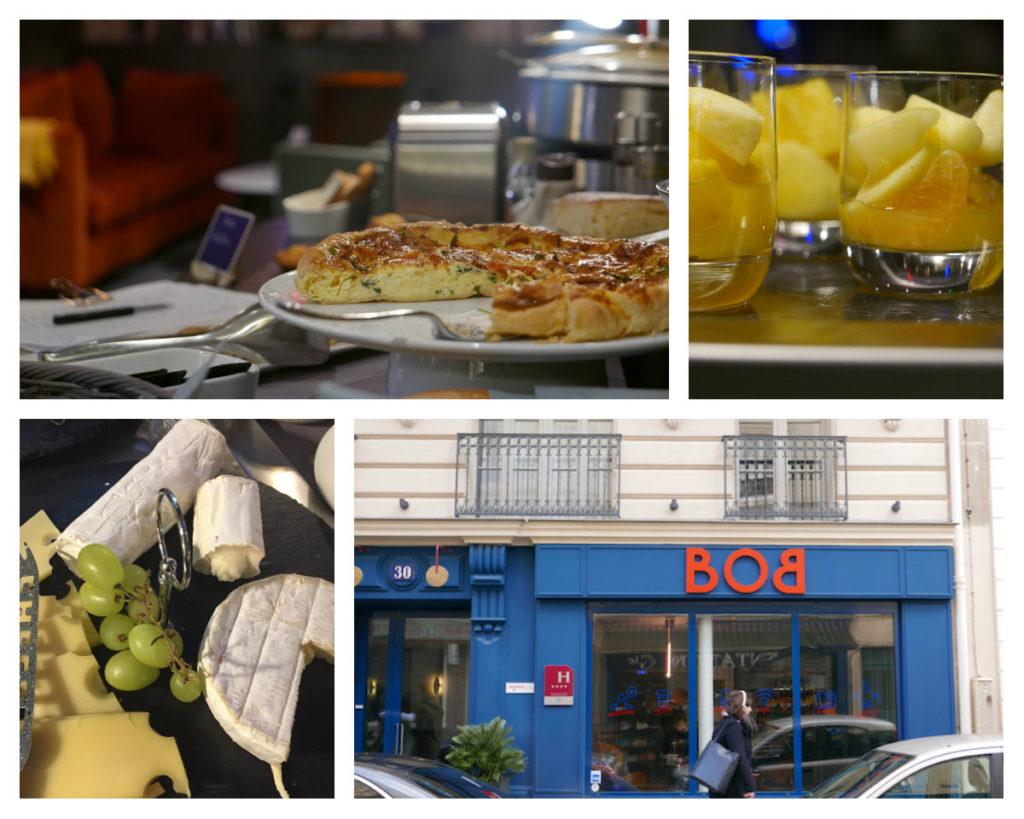 BOB HOtel designhotel Parijs wijk Montparnasse ontbijt
