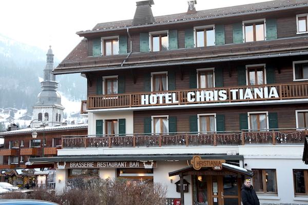 Hotel Chrisitiana in het Franse skidorp La Clusaz