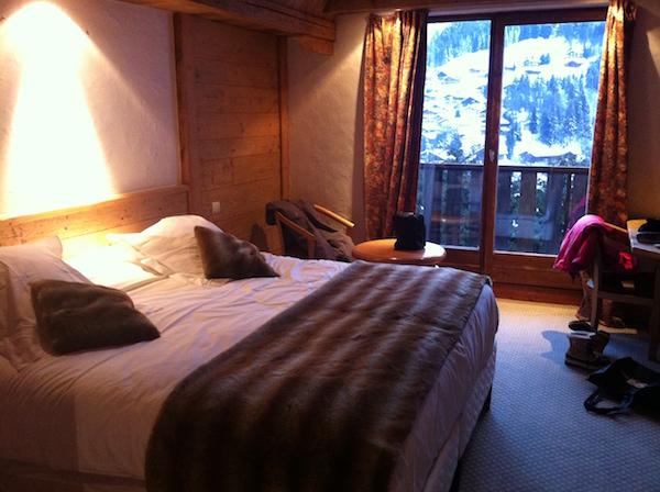 Kamer in hotel Alpen Roc in La Clusaz