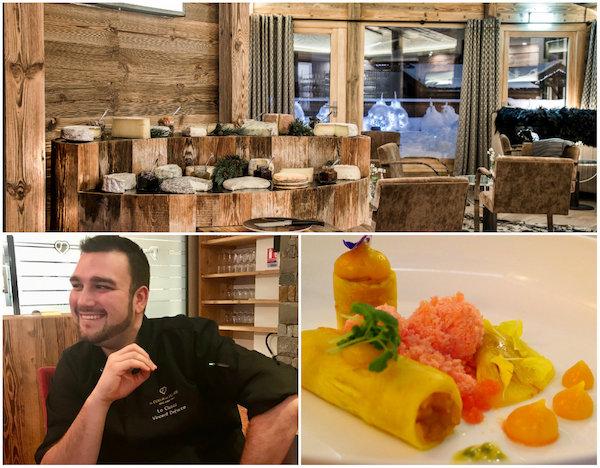 Gastronomisch restaurant Le Cinq in La Clusaz