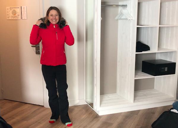 Ski-Chic huren van skikleding in La Plagne, de test