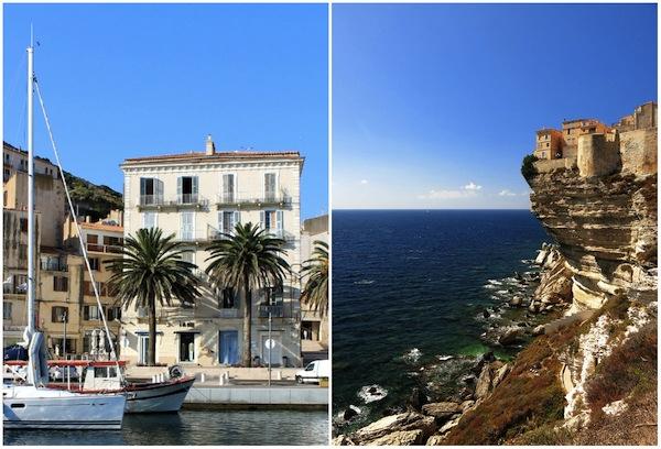 Bonifacio, het stadje bovenop de kalkrotsen