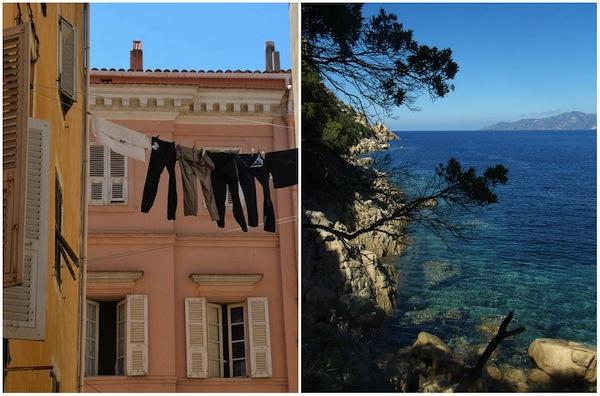 Ajaccio en de westkust van Corsica