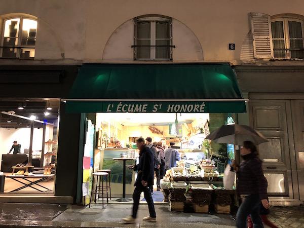 romantisch weekend in Parijs oesters fruits de mer L Ecume Saint-Honoré