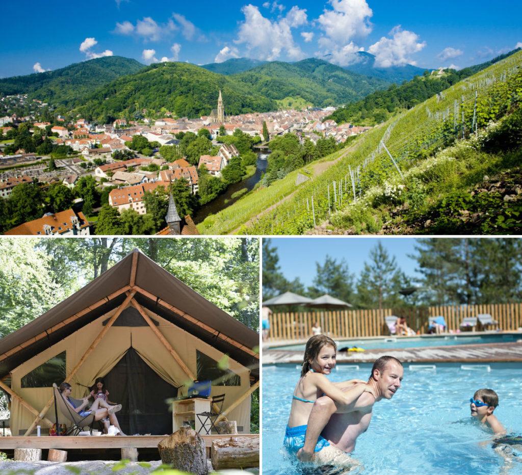 Camping Huttopia Wattwiller - Elzas - wijnroute