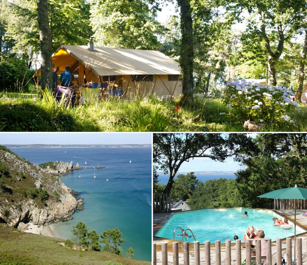 Camping Huttopia Douarnenez - westkust van Bretagne
