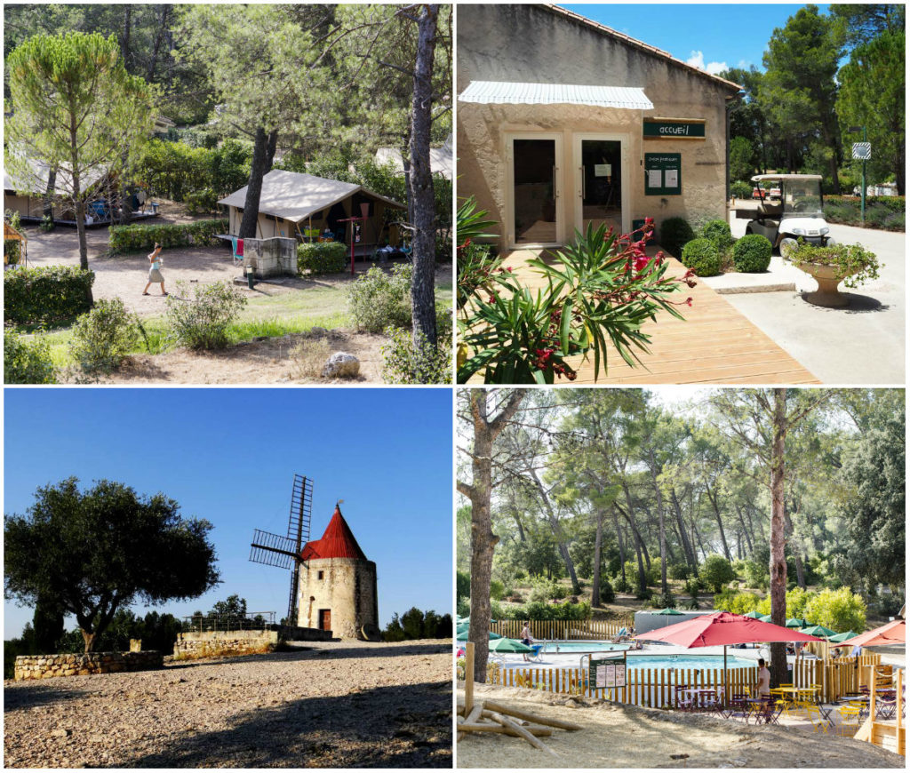 Camping Huttopia Fontvieille in de Provence